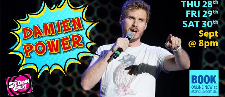Stand Up Comedy With Damien Power