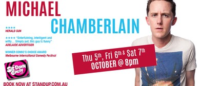 Stand Up Comedy With Michael Chamberlin