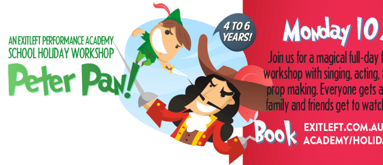 Peter Pan – Fairytale Theatre Holiday Workshop