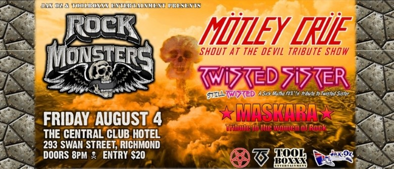 Rock Monsters Shout At The Devil, Still Twisted & Maskara
