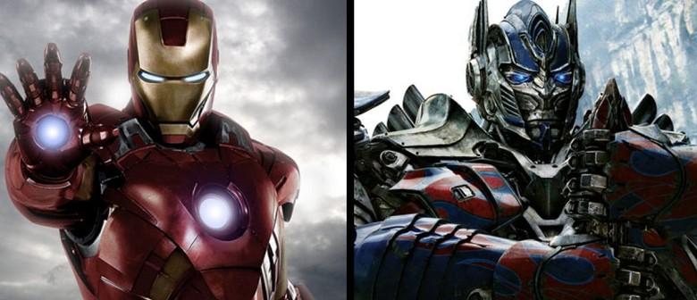Iron Man and Optimus Prime Show