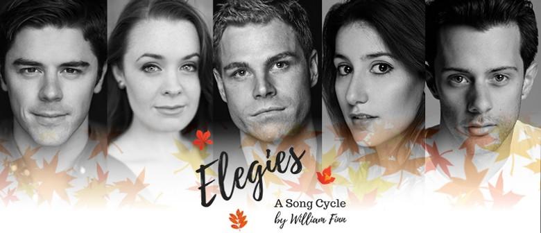 Elegies – A Song Cycle By William Finn