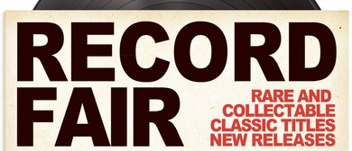 Record Fair and BYO Vinyl DJ Session