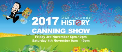 Make Smoking History Canning Show