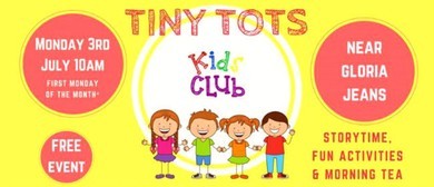 Tiny Tots Kids Club – Animal Fun