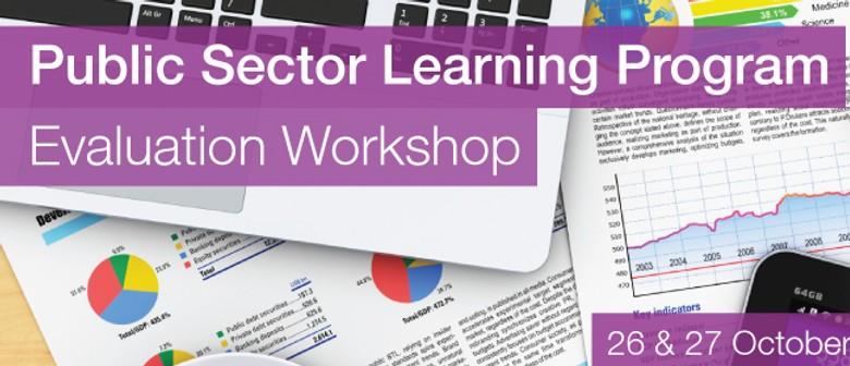 Public Sector Learning Program Evaluation Workshop