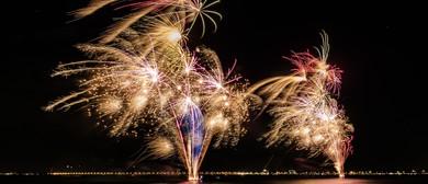 Foreshore Fireworks - New Year's Eve Celebration
