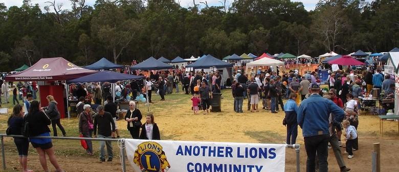 Jarrahdale Log Chop and Lions Country Fair