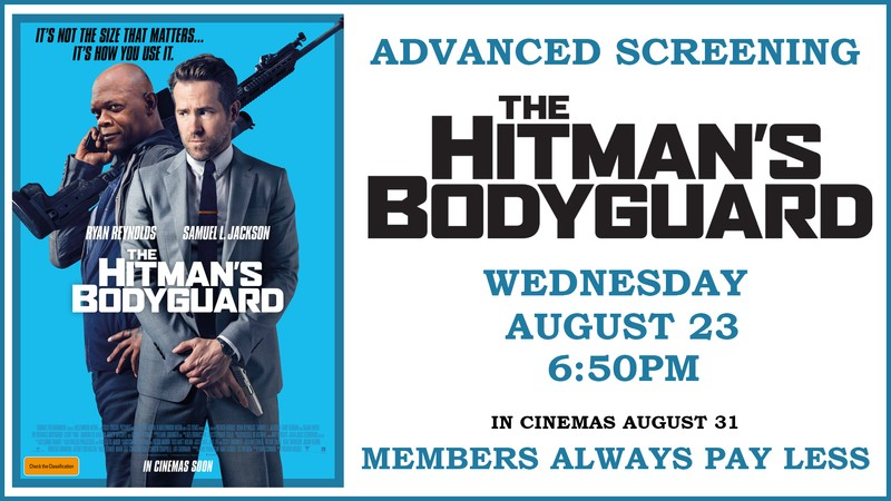 advanced screening the hitman 39 s bodyguard perth. Black Bedroom Furniture Sets. Home Design Ideas