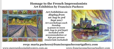 Homage to The French Impressionists – Art Francisco Pacheco