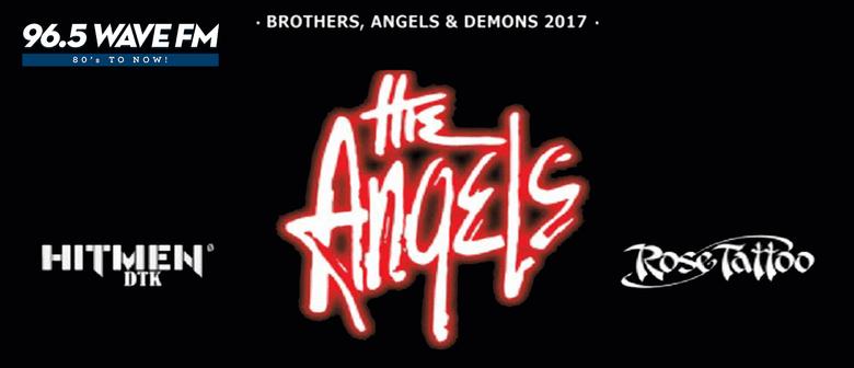 The Angels, Rose Tattoo and Hitmen DTK