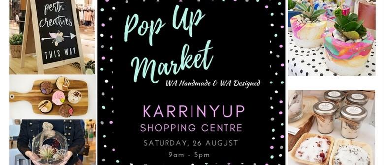 Pop Up Market – WA Handmade and Designed