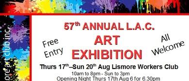 57th Annual Lismore Art Club Exhibition