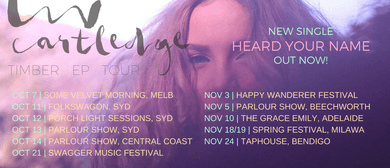 Liv Cartledge – Timber EP Launch