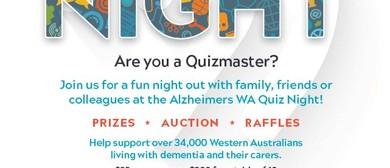 Alzheimer's WA Quiz Night