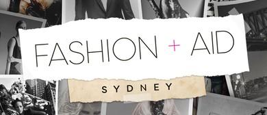 Fashion+Aid Sydney 2017