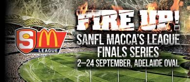 SANFL Macca's League Finals Series