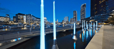 Melbourne's New Science Fiction-Inspired Sculpture