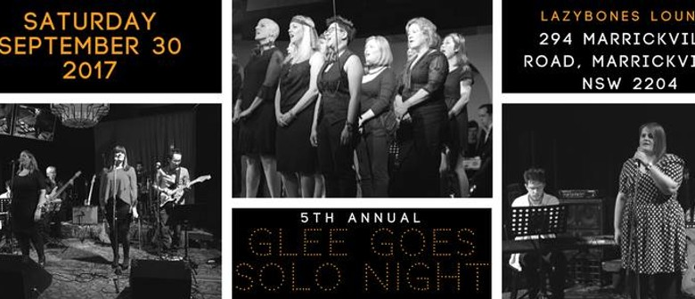 5th Annual Glee Goes Solo Night