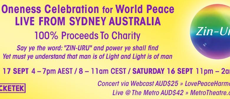 Oneness Celebration For World Peace ZIN-URU