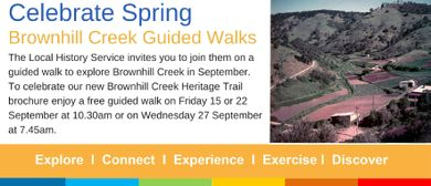 Brownhill Creek Guided Walks