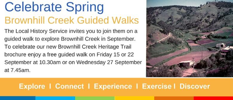 Brownhill Creek Guided Walks