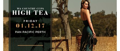 WA Country Cups High Tea