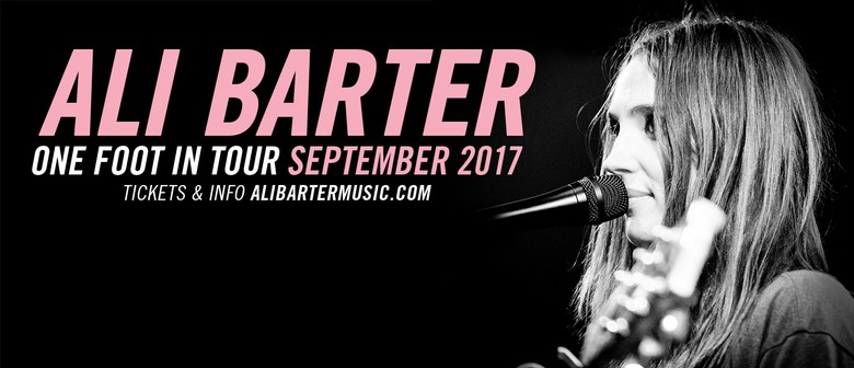 Ali Barter – One Foot In Tour
