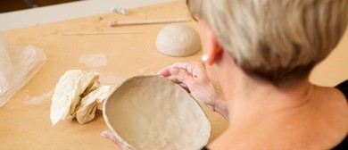 Japanese Pottery – Nest of Small Plates