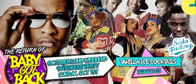October Long Weekend 90s Party