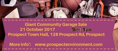 Giant Community Garage Sale