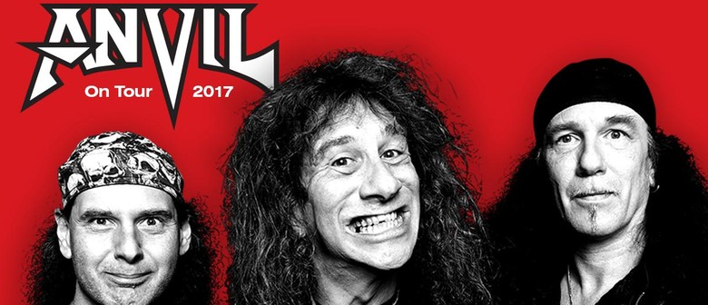Anvil – 40th Anniversary World Tour
