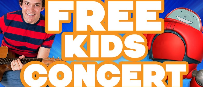 Dan Warlow and Superbook Kids Concert
