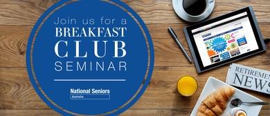 Breakfast Seminar: Preparing for Retirement