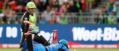 KFC BBL 07 Match 4: Adelaide Strikers Vs Sydney Thunder
