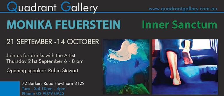 Solo Exhibition – Inner Sanctum By Monika Feuerstein