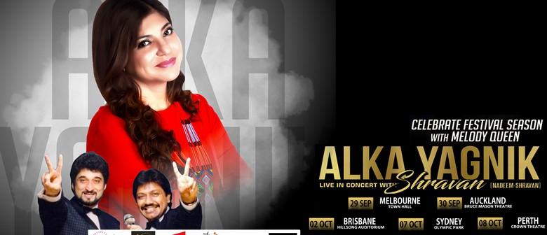 Alka Yagnik With Shravan Rathod Australia Tour
