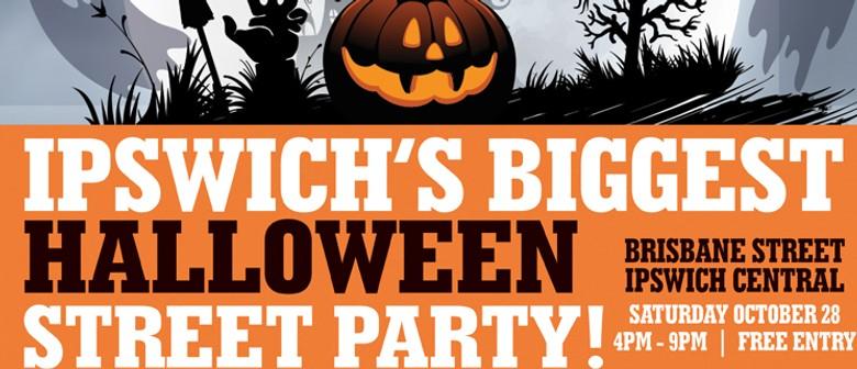 Ipswich's Biggest Halloween Street Party
