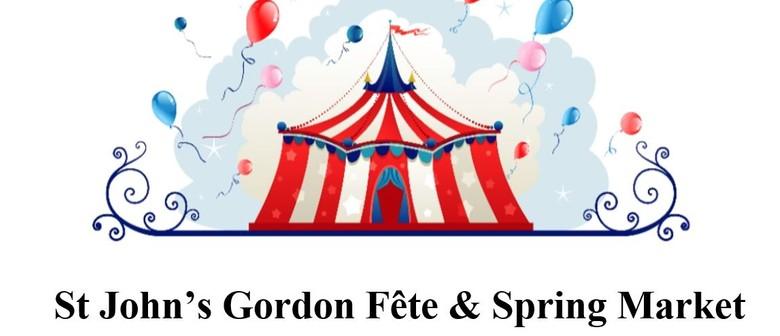 St John's Gordon Fete and Spring Market
