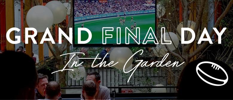 Grand Final In the Garden