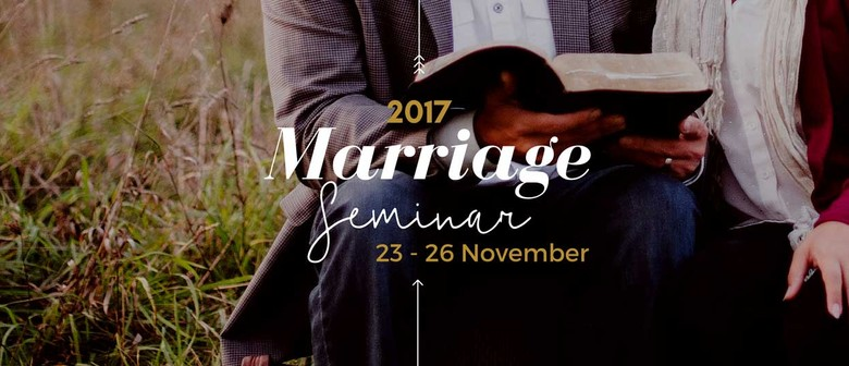 2017 Marriage Seminar