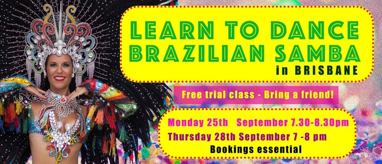 Brazilian Samba Trial Classes