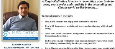 Life a Meditation: Mindfulness Made Simple