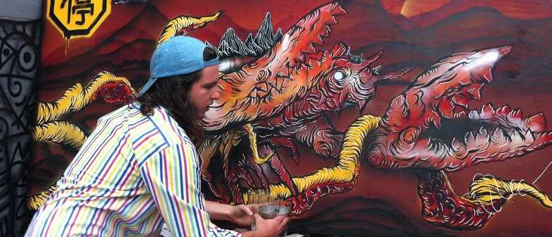Mural Workshop with Cam Wall