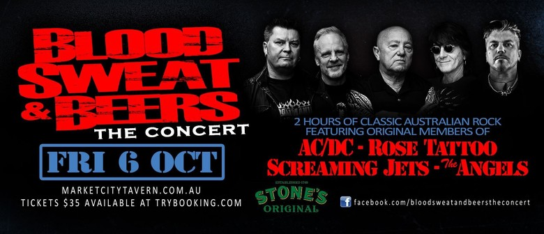 Blood, Sweat and Beers – The Concert