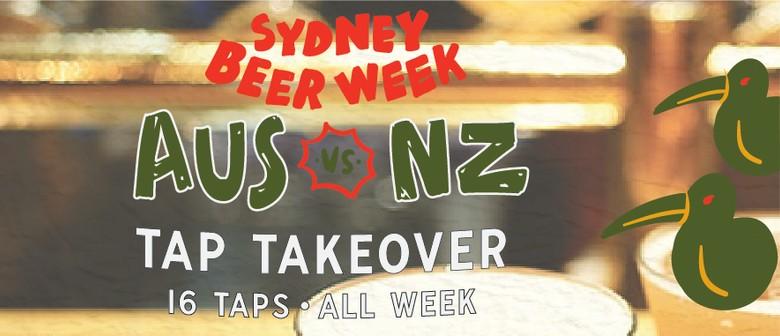 Sydney Beer Week – Australia Vs NZ Tap Takeover