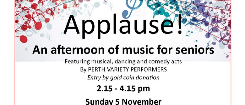 Applause – An Afternoon of Music for Seniors