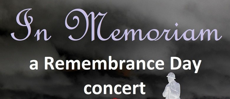 In Memoriam – A Remembrance Day Concert