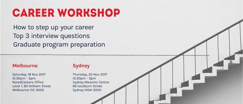 Career Workshop: Stepping Up Your Career
