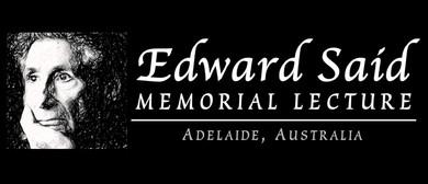 2017 Edward Said Memorial Lecture